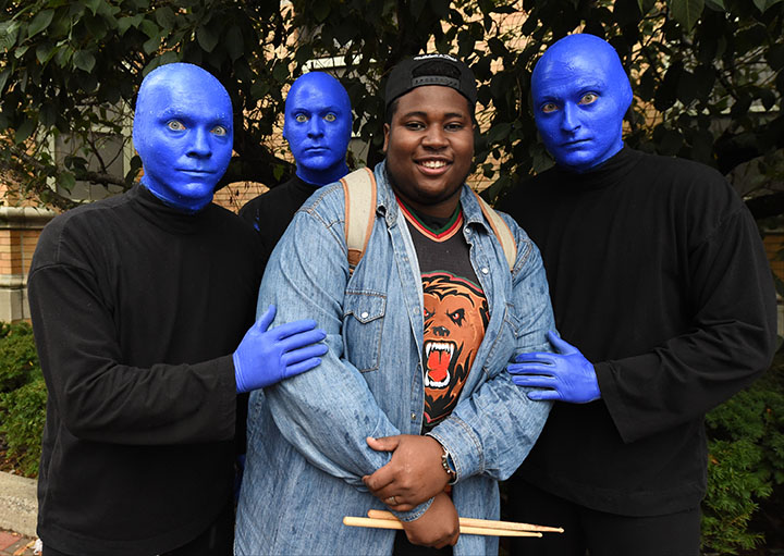 Justin Winters - Blue Man Group Boston